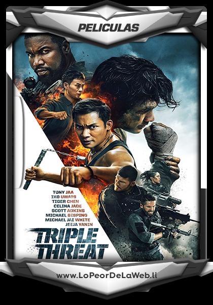 Triple Threat 2019 (720p) WEB-DL.x264.800MB
