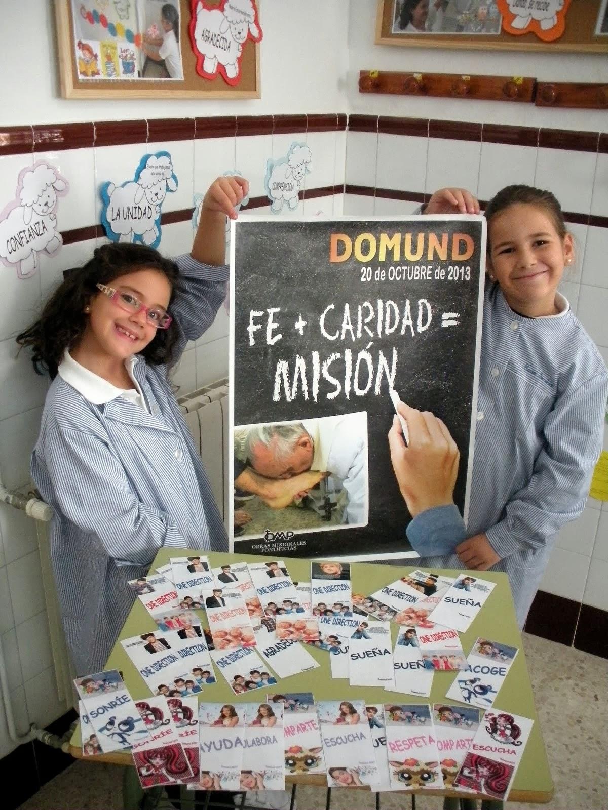 150 euros recaudados para el  DOMUND