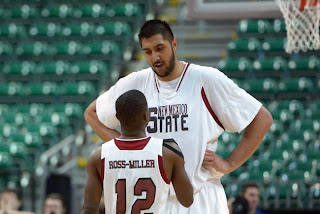 Sim Bhullar, New Mexico State's 7-foot-5 center