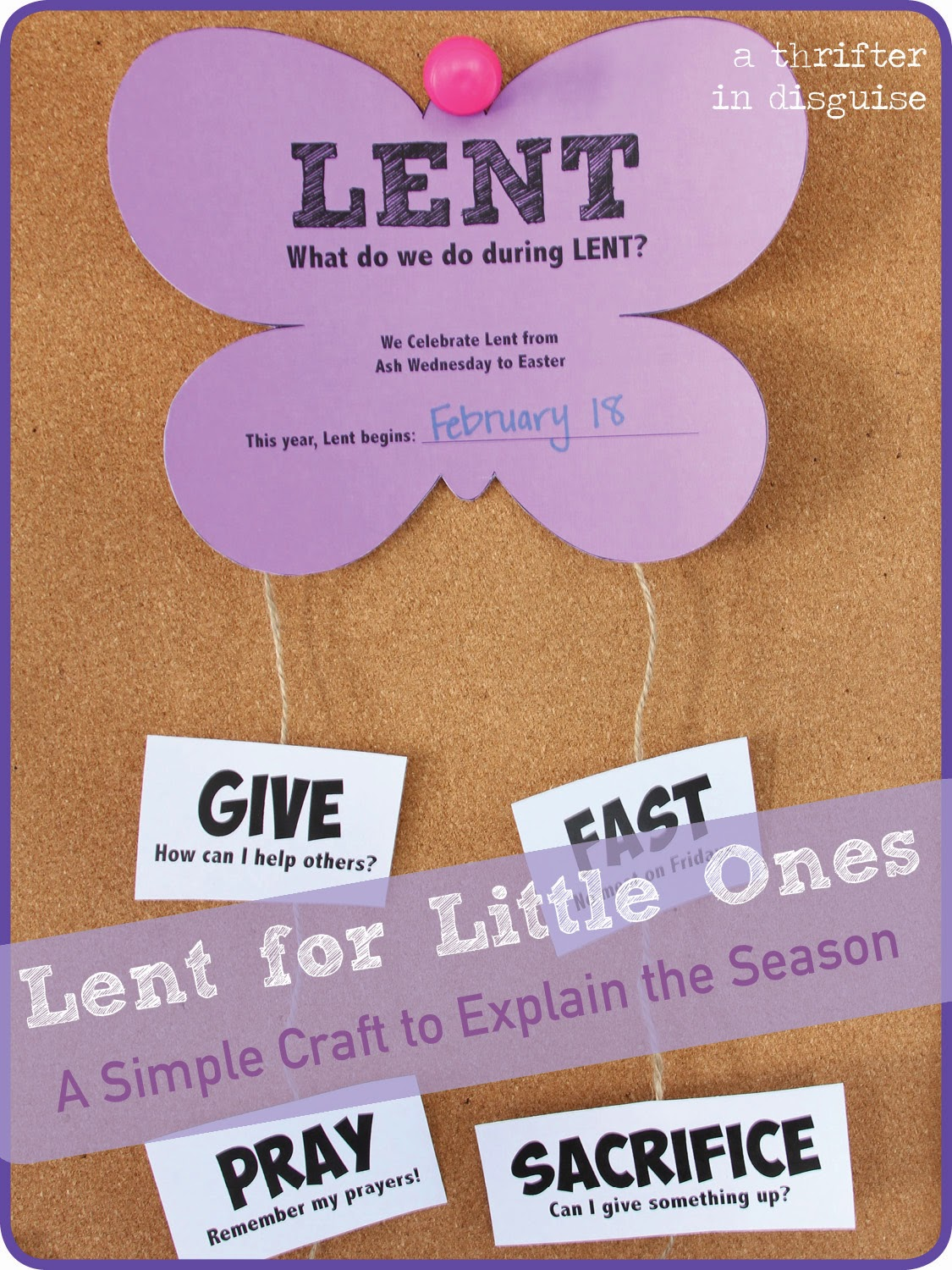 Teaching Lent to Kids