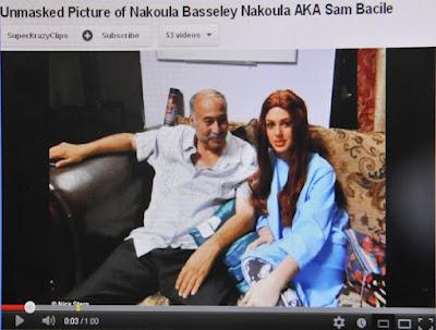 Wajah Nakoula disiar di YouTube