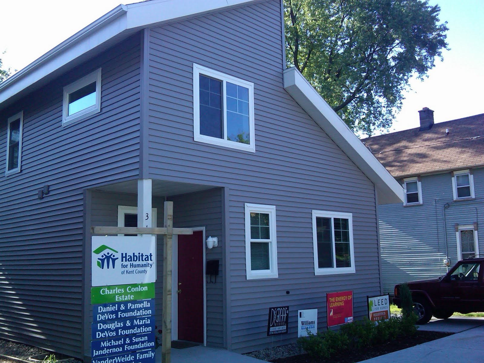 335 freyling place se project receives leed for homes for Leed for homes provider