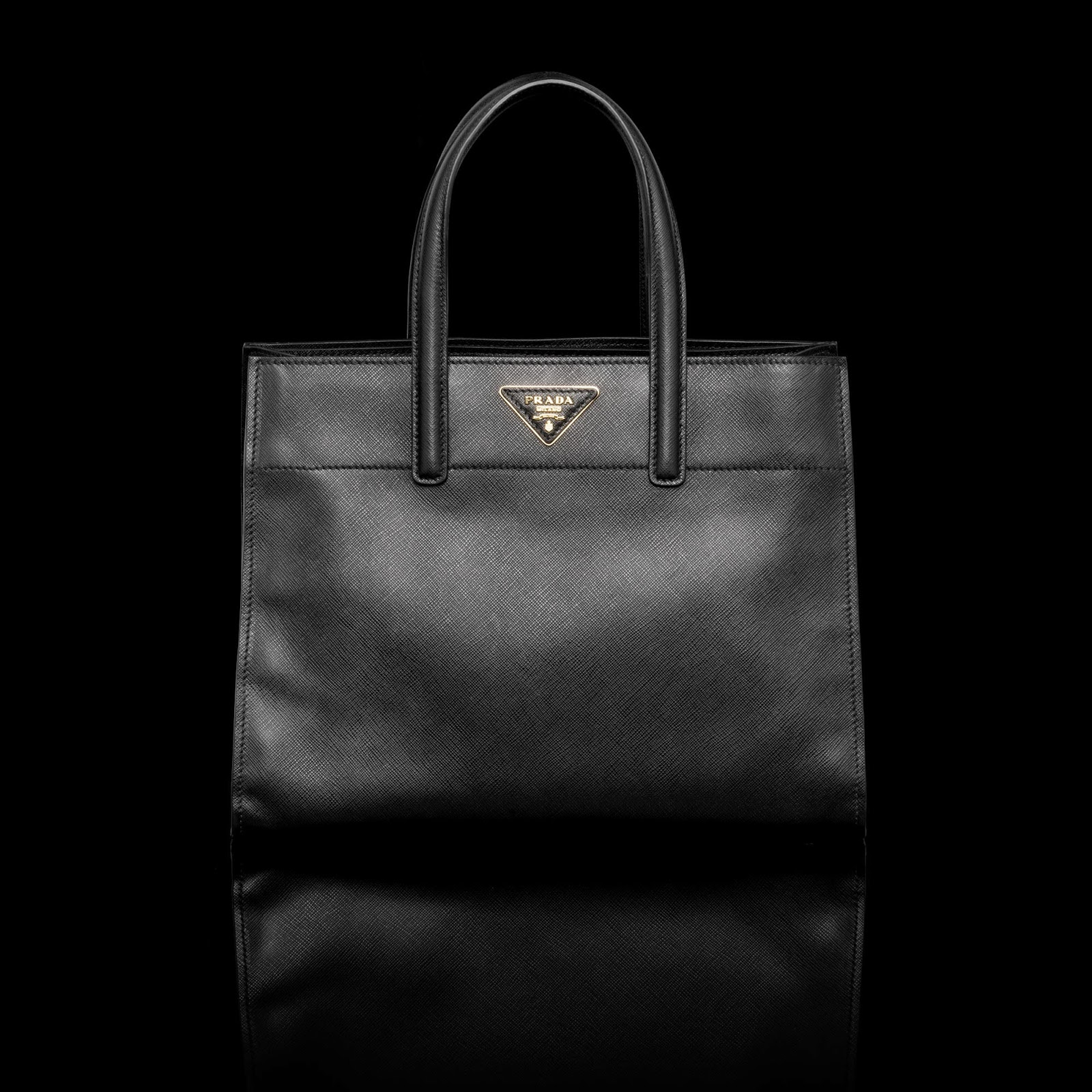 spot fake prada - Neo LUXuries: PRADA Small Saffiano Soft Leather Tote - BN2606