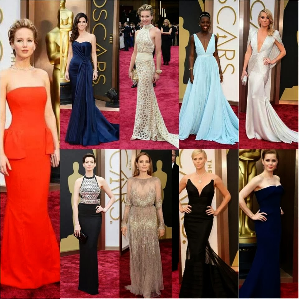 Best Dressed Women at the Oscars 2014