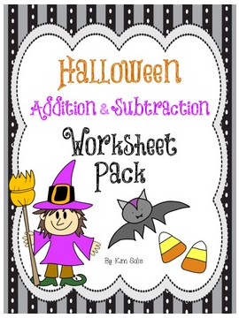 math worksheet : my life according to pinterest so i m a teacher : Halloween Addition And Subtraction Worksheets