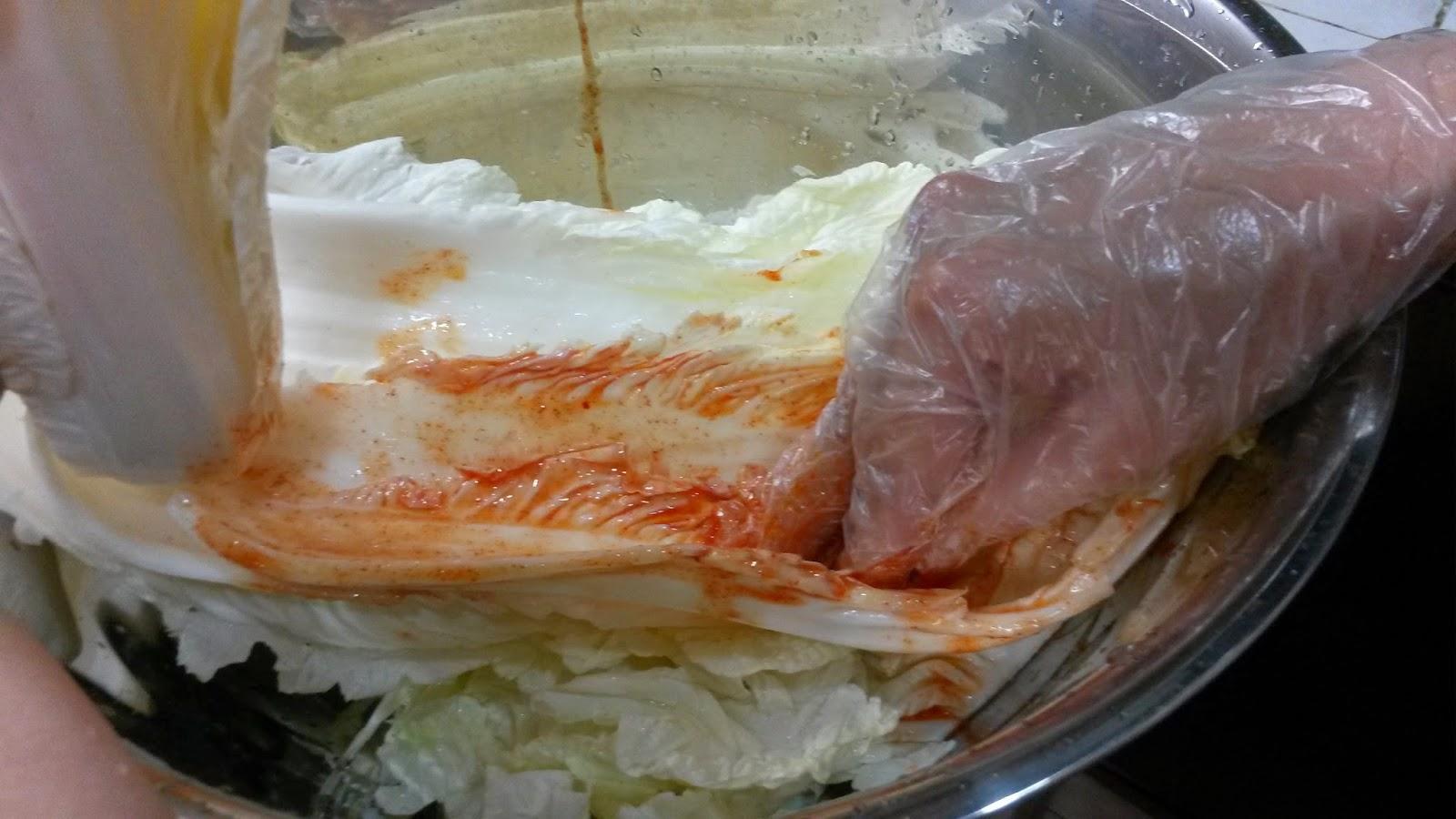 how to make kimchi with kimchi base