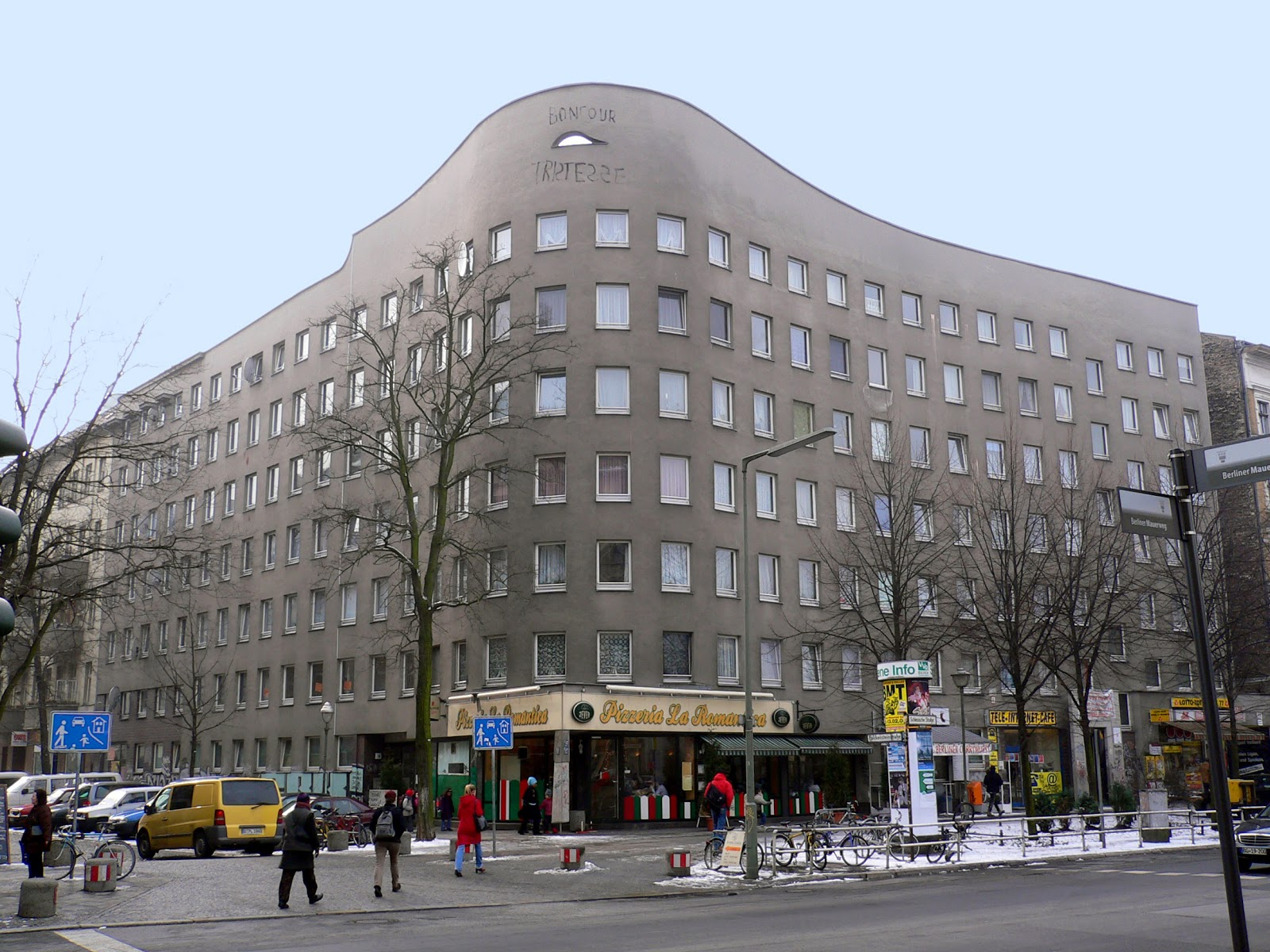 Immeuble dhabitation Bonjour tristesse , Berlin-Kreuzberg, Allemagne
