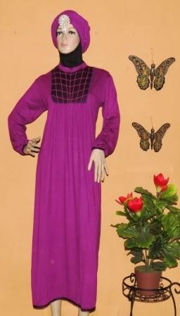Baju Gamis Bahan Kaos GKM4600