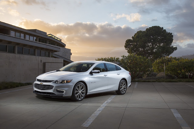 The 2016 Chevrolet Malibu has Made its way to Graff Bay City