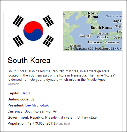 10 facts about South Korea
