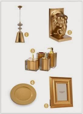 presentes para bodas de ouro simples e bonitos