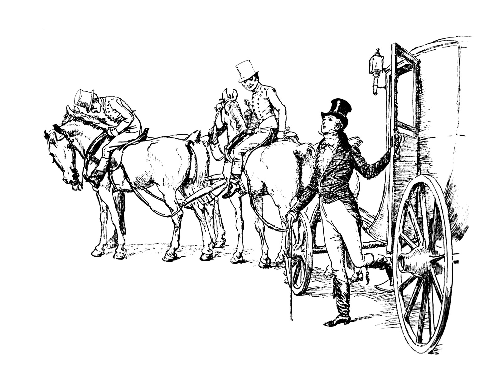 plush possum studio carriage ride coloring pages