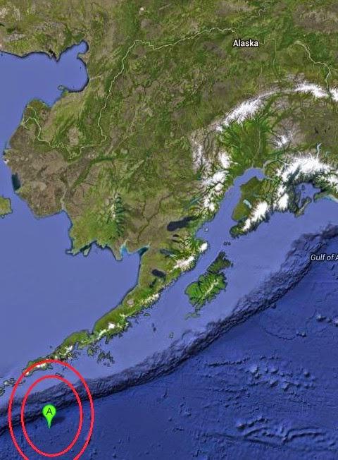 Magnitude 3.0 Earthquake of Akutan, Alaska 2014-09-10