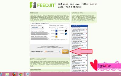 tutorial blog, tutorial, tutorial website, cara pasang feedjit, feedjit, traffic blog, step by step pasang feedjit, cara hias blog, tutorial cantikkan blog,