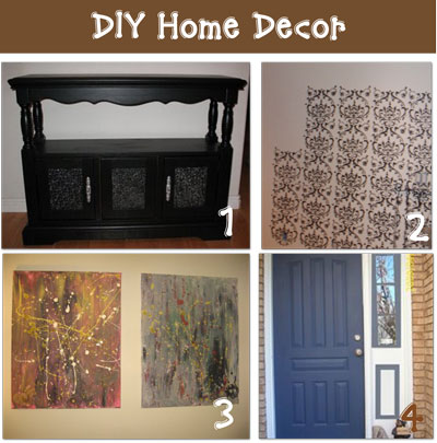 Home Interior: diy home decor