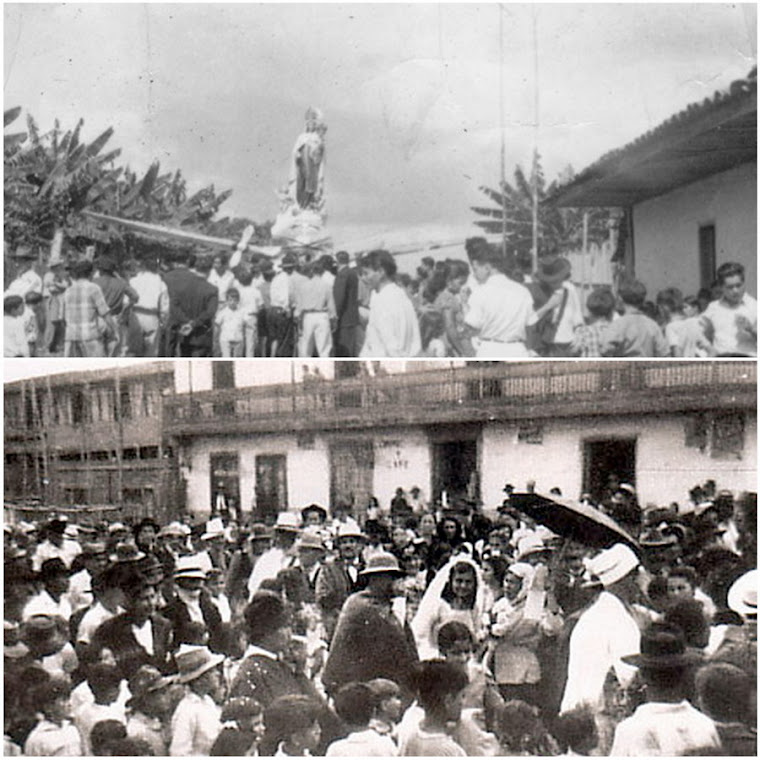 "Vultee BT-13 ""Valiant""Cuando la Virgen del Carmen Tuvo Alas. Matrimonio Campesino. Restrepo Valle"