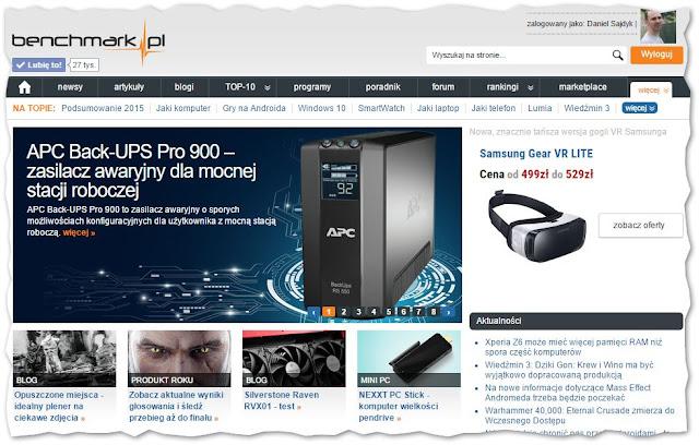 Test APC Back-UPS Pro 900 na portalu benchmark.pl