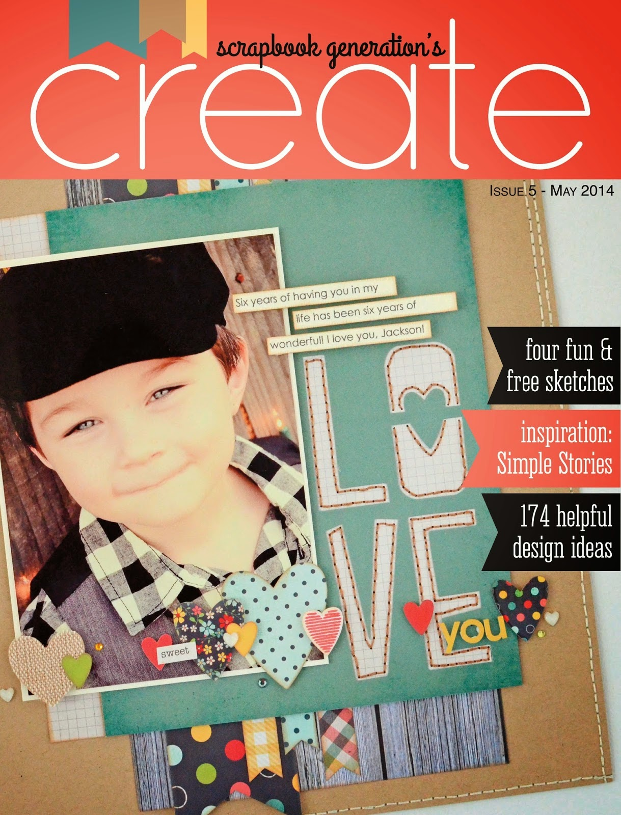 How to scrapbook magazines - Create Magazine Simple Stories
