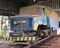 Camion Rail CFU au dépot de Isiro/Paulis (PO)