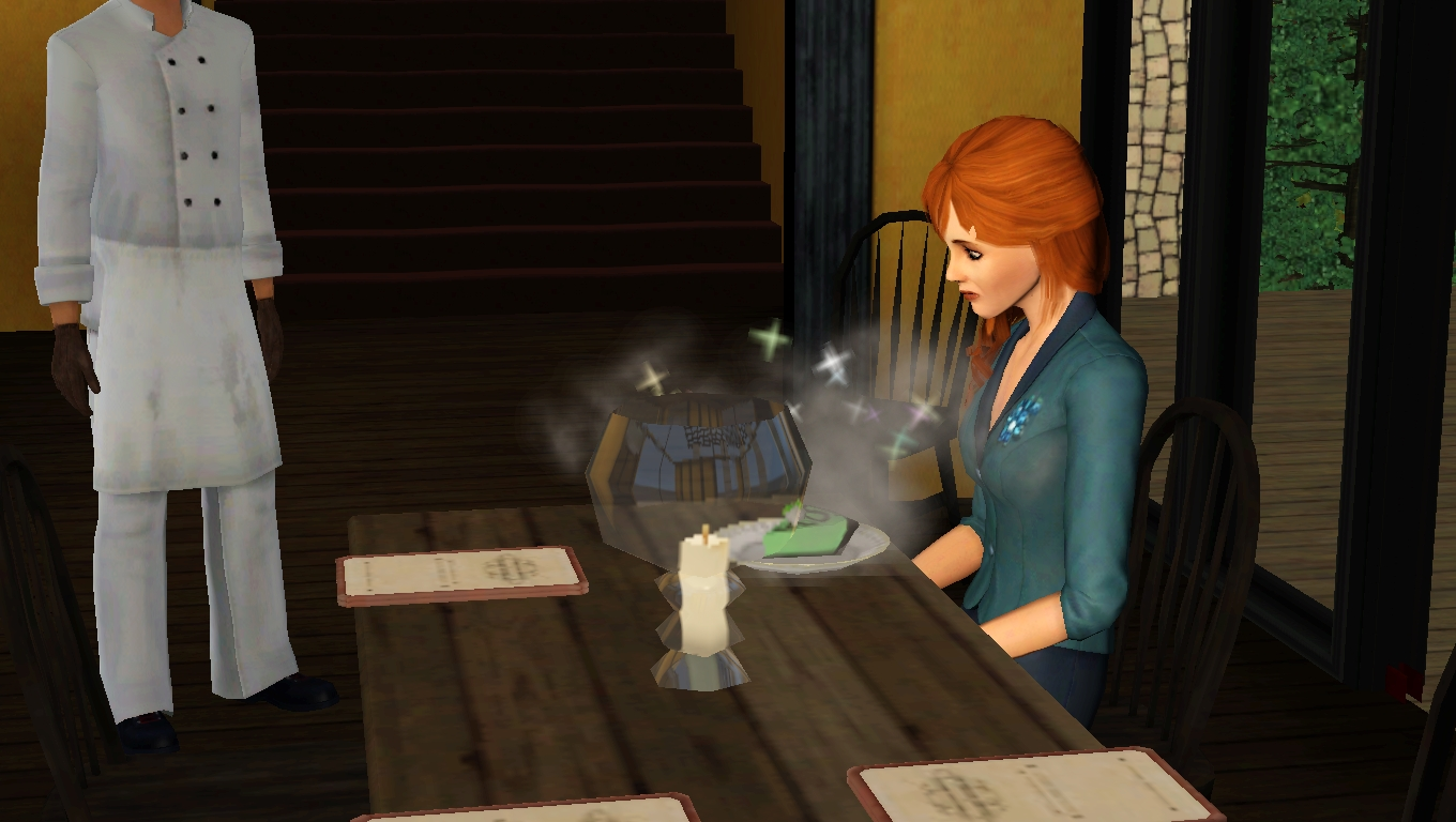 how to use business as usual bistro sims 3