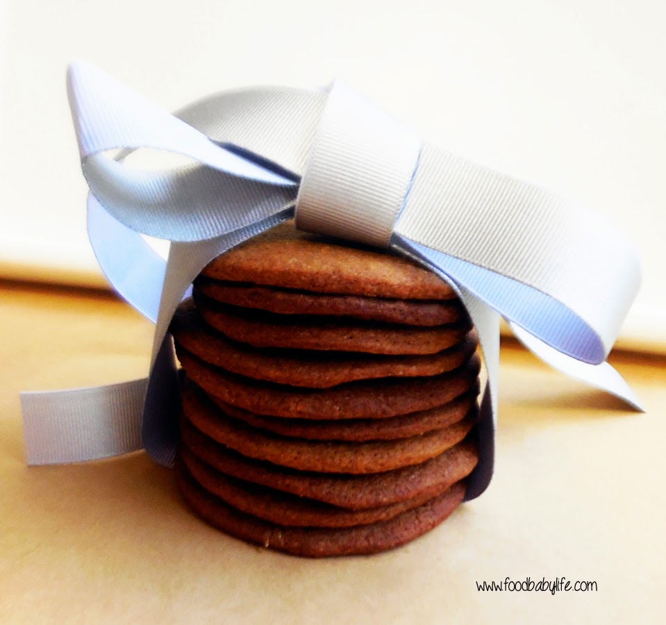 Long Winter Molasses Cookies © www.foodbabylife.com