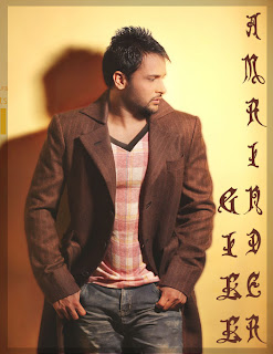 Amrinder Gill Wallpaper in side poss