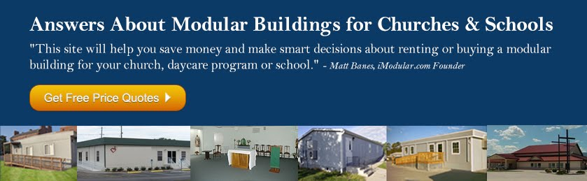 Modular Buildings for Churches and Schools