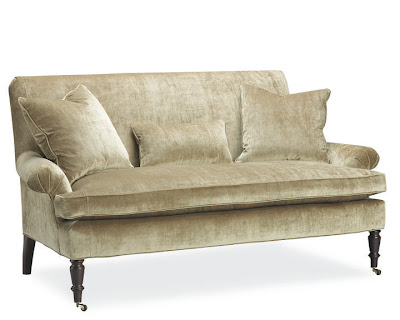 Stylebeat right sized the best stylish upholstery for for Right size sofa for room