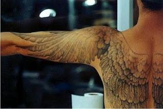 Tatoos y Tatuajes de Alas, parte 1