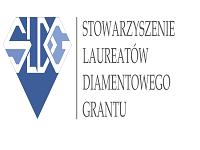 Logo Stowarzyszenia Laureatów Diamentwowego Grantu