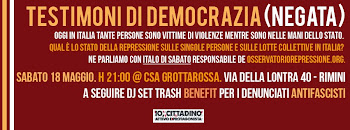 Testimoni di democrazia (negata)