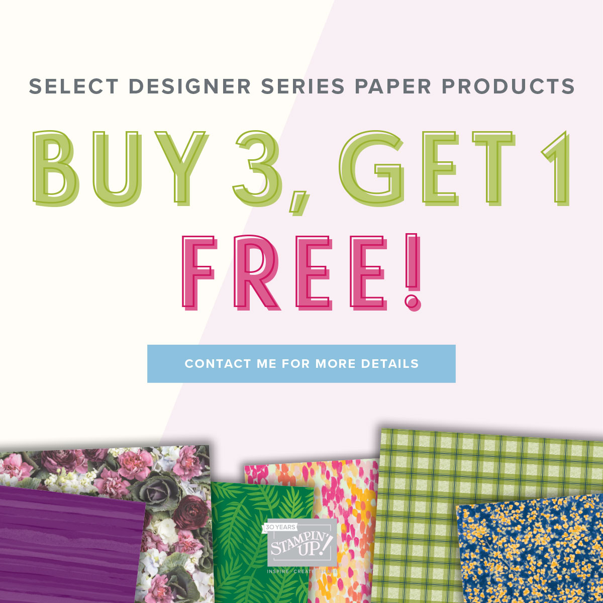 Designer Series Paper Offer!