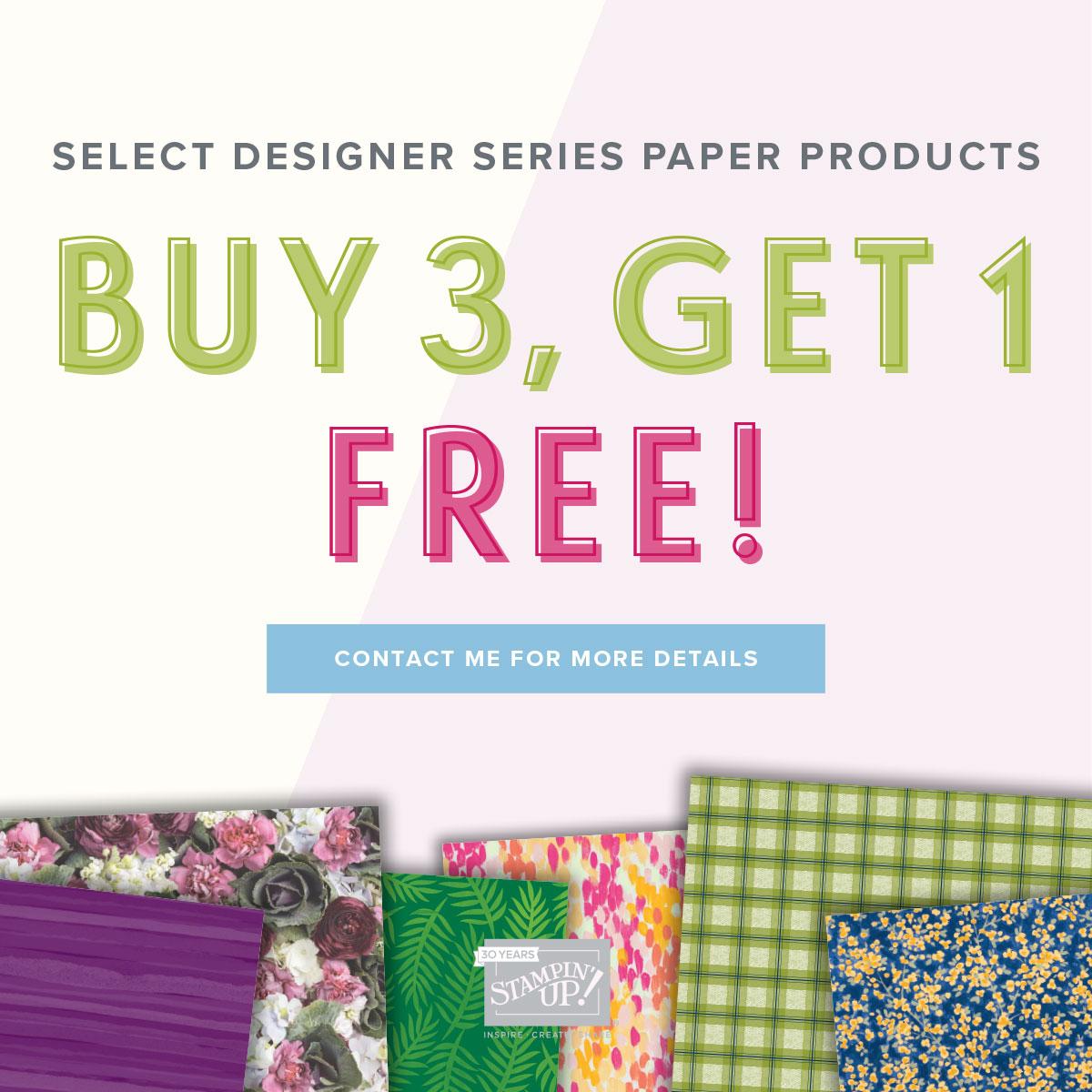 Designer Series Paper Offer!