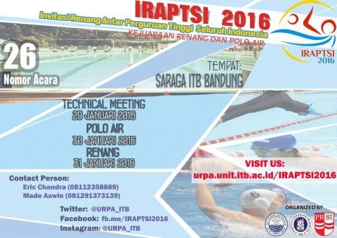 invitasi renang antar perguruan tinggi seluruh indonesia