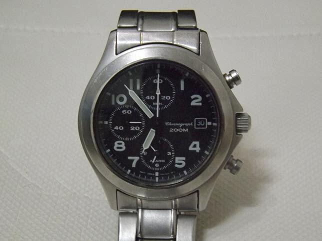 xDeath Market: (SOLD) Seiko Military Alarm Chronograph