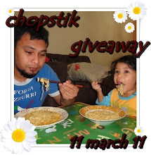 "2nd GA "" chopstik giveaway"""