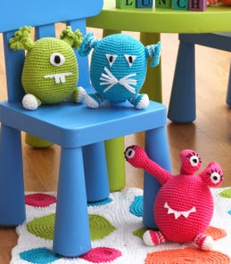 http://www.yarnspirations.com/pattern/crochet/monsters-1