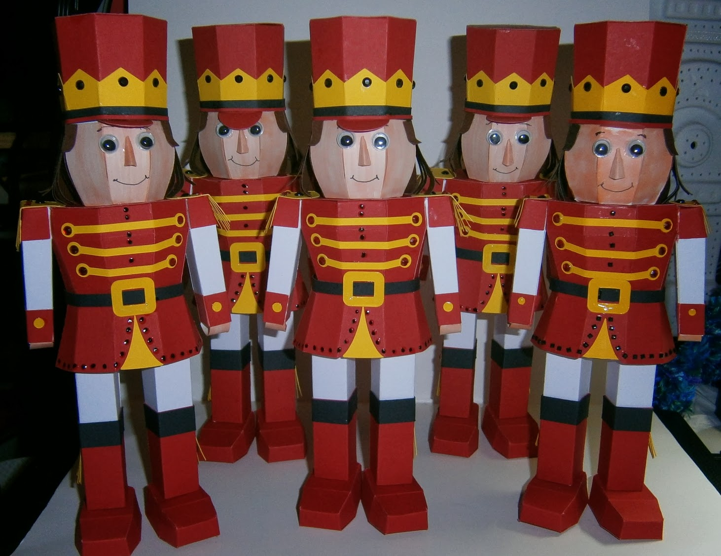 Christmas Toy Soldiers : Craft creations clara s christmas toy soldier
