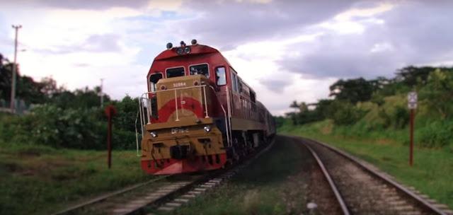 viajar en tren por Cuba