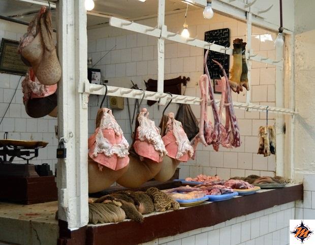 Fes, mercato nei pressi della Grand Rue de Fes El Jedid