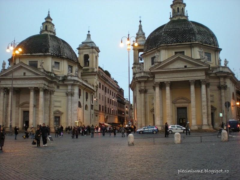 Gemenele din Piazza del Popolo