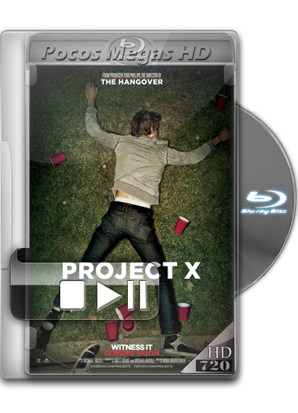 Proyecto X [2012] [Comedia] [BRRip] [720p] [Latino 5.1]