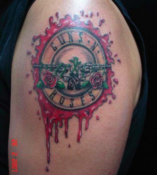 Hannikate music tattoos part 2 for Rose tattoo song