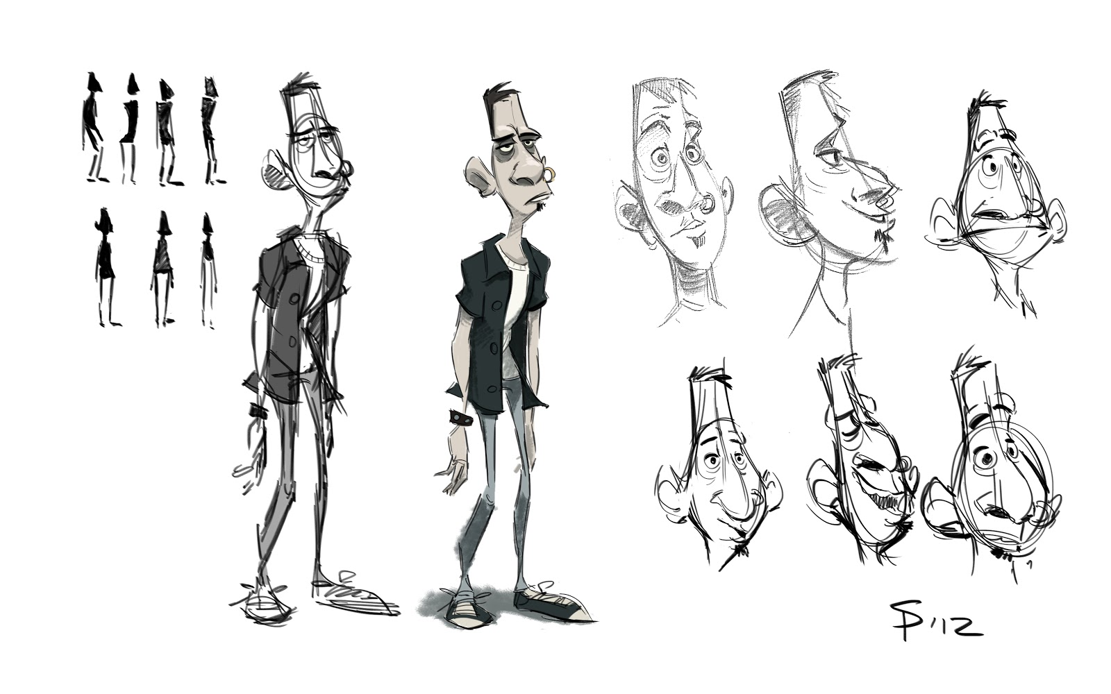 Ys Character Design : What s seanyboy doing character design for project