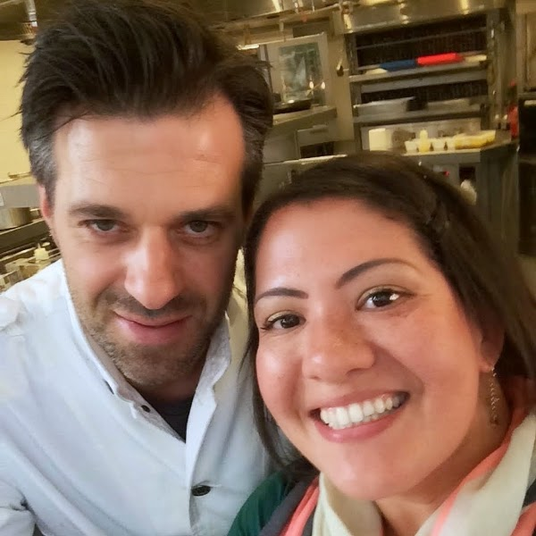 Chef Sergio of The Jane Restaurant Antwerp Belgium
