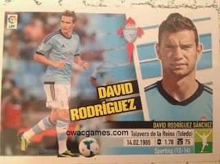 Coloca David Rodríguez