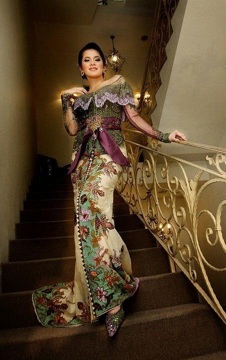 Model Kebaya Modern Mewah dan Elegan