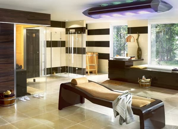 Salle de bain luxe design for Most stylish bathrooms