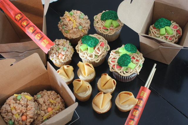 Chinese Take-Out Cupcakes