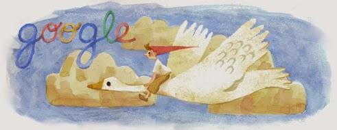 Google'dan Selma Lagerlöf Doodle